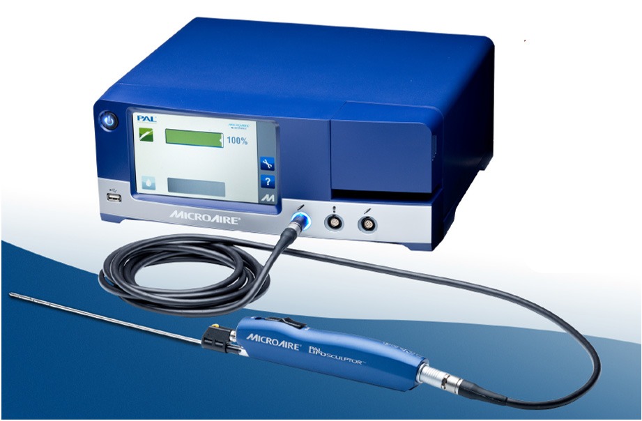 Terminal MicroAire Aesthetics Liposucción con sistema PAL 650 distribuido por Kinetics Plus